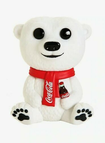 Funko Pop AD Icon COCA-COLA Polar Bear Flocked 58 BoxLunch Limited Edition