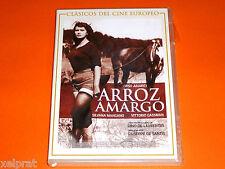 ARROZ AMARGO - Silvana Mangano / Vittorio Gassman - Giuseppe De Santis Precintad
