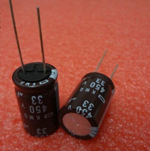 450 V 33uf 105 C Dorl /_ a Condensador electrolítico Radial 10 un