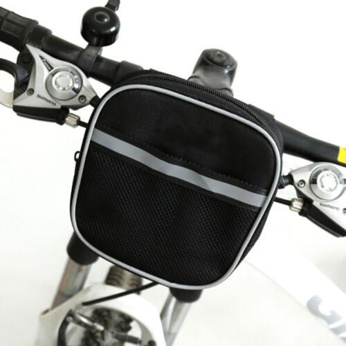 1 STÜCK Fahrradtasche am Lenker Rennrad Korb Radfahren Reflektierende 0U