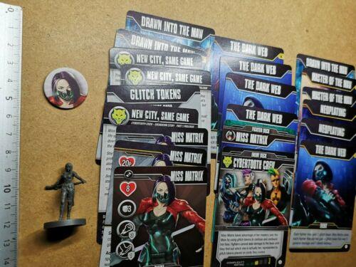 Miss matrix//fighter miniature card//street masters//aftershock g60