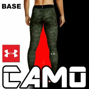 UNDER ARMOUR MEN'S UA CAMO COMPRESSION LEGGINGS TIGHT BASE LAYER COLDGEAR M