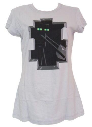 Medium Minecraft T-Shirt Enderman Womens Small