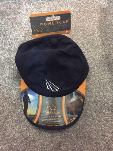 NAVY Panther Vision PowerCap Cap 4 LED LIGHT Sun Dog Fishing Walking Walk Sports