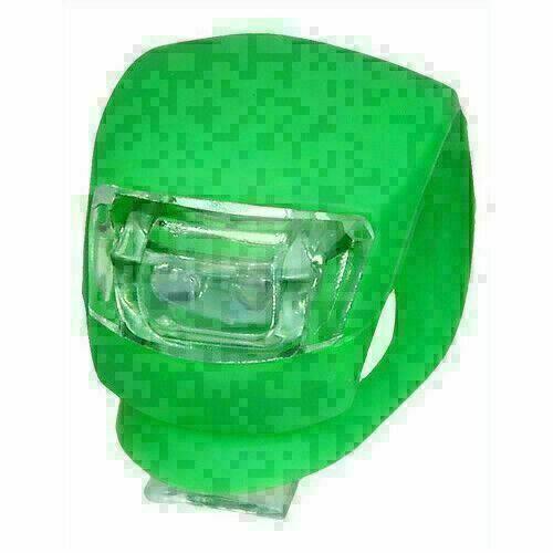 New Smark Bike Cycling Frog LED Front Head Rear Light Waterproof Lamp Green