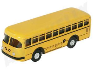 Autos & Busse Sanft Blechspielzeug Bus Büssing 1959 Mit Uhrwerk Gelb Von Kovap 0492g Neuware Blechspielzeug