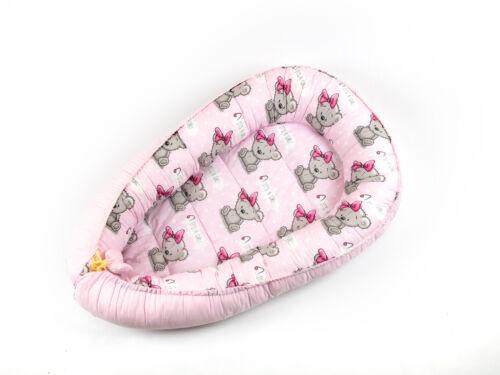 Babynest Baby nest Schlafnest für Babys Baby nestchen kokon Minky