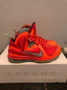low priced c051b 3cfb4 Image is loading nike-lebron-9-AS-galaxy-size-9-5