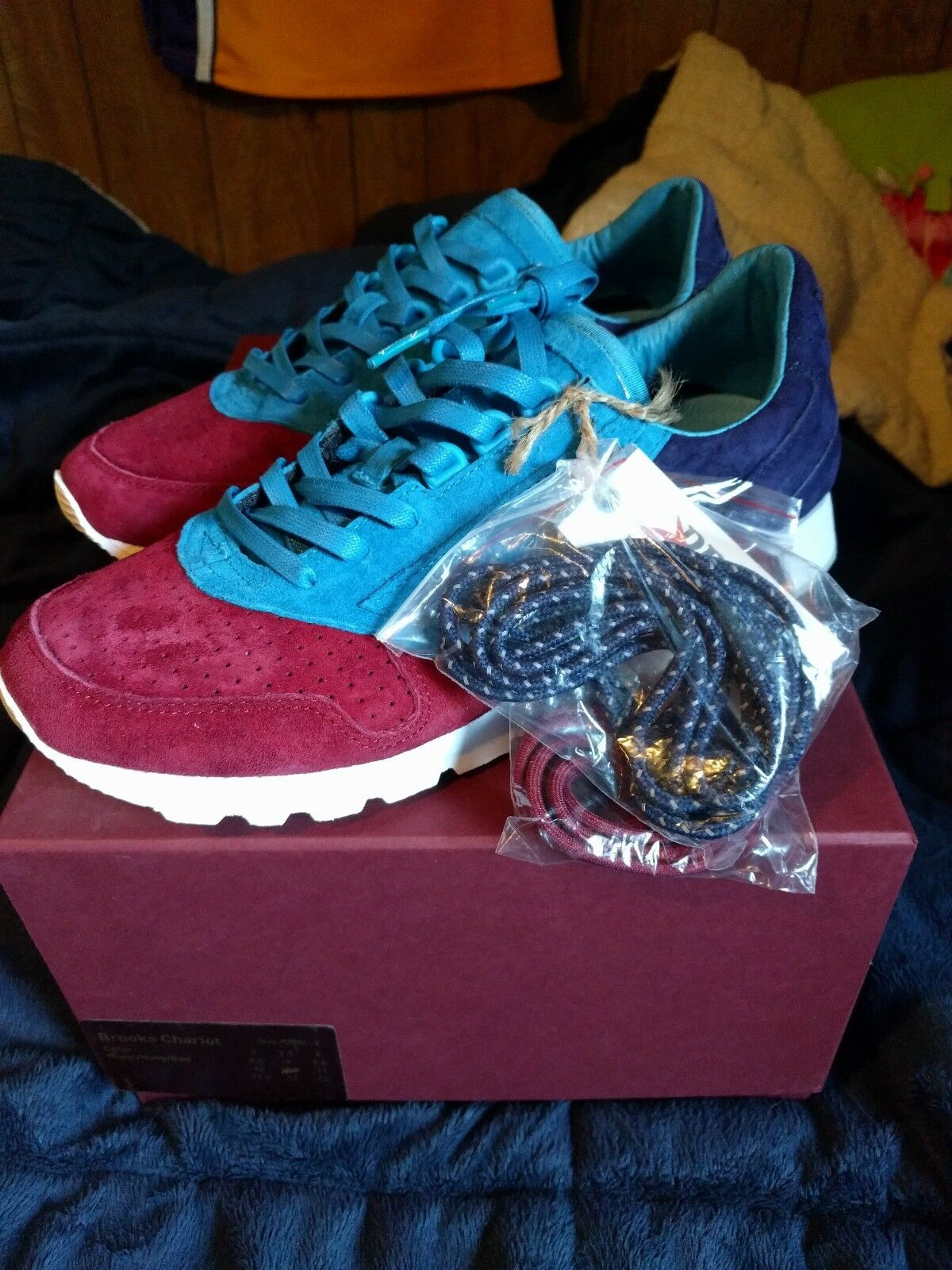 Concepts Hyannis Brooks Merlot Chariot Ronnie Fieg Kith Kith Kith Size 10 942204