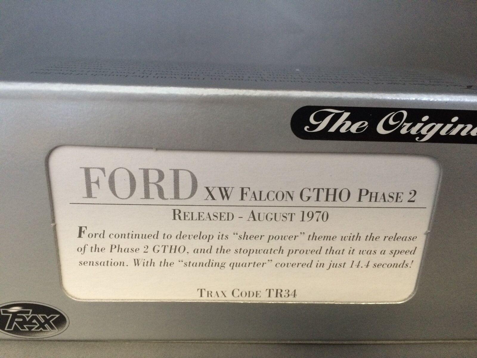 1 43 Trax TR34 Ford XW Falcon GTHO GTHO GTHO fase 2 bfaa12