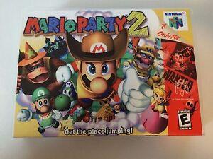 Mario-Party-2-Nintendo-64-Replacement-Case-No-Game