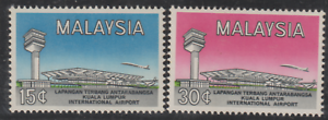 (22)MALAYSIA 1965 KL INTERNATIONAL AIRPORT SET 2V FRESH MNH.