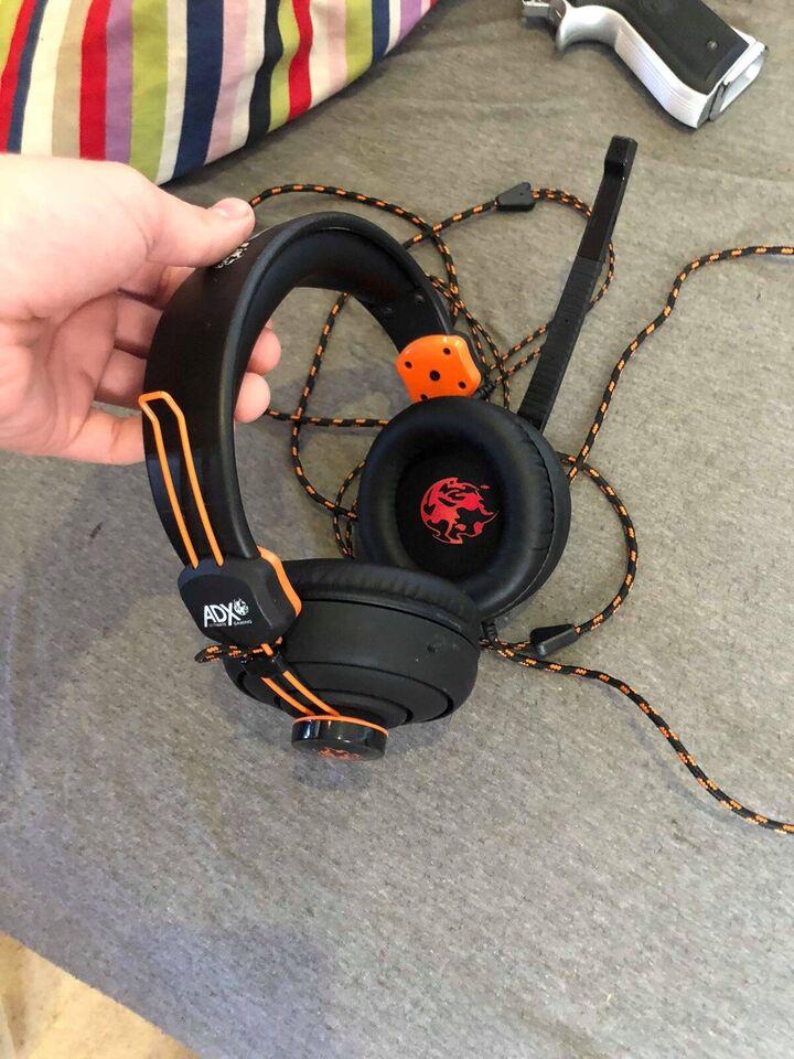 Headset, ADX Firestorm A01, God – dba dk – Køb og Salg af