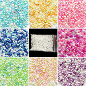 LOTS-500PCS-Simulation-Pearl-Spacer-Loose-Beads-Filler-Round-Jewelry-Making-DIY
