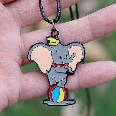 Dumbo Timothy Cartoon Keychain Keyrings Metal Pendant Kids Gift