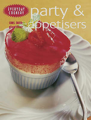 """""""AS NEW"""" Steer, Gina, Party and Appetisers: Every Day Cookery Book"""