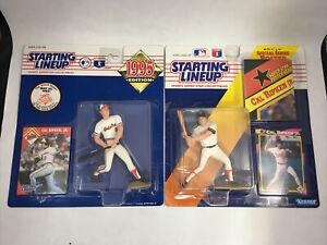 Cal Ripken Jr. Starting Lineup Set of 2 1992 1995 Figures MLB Baltimore Orioles