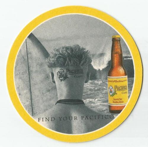 16 Find Your Pacifico Clara Beer Coasters