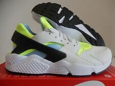 4a6a89f66ff6 Nike Air Huarache Men Lifestyle Casual SNEAKERS off White Barely Volt 9.5