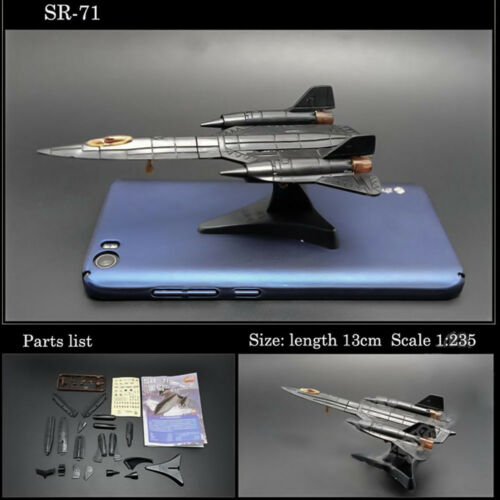 1-8PCS 4D Fighter Airplane Helicopter Model Collection Puzzle Figure Toy Gift