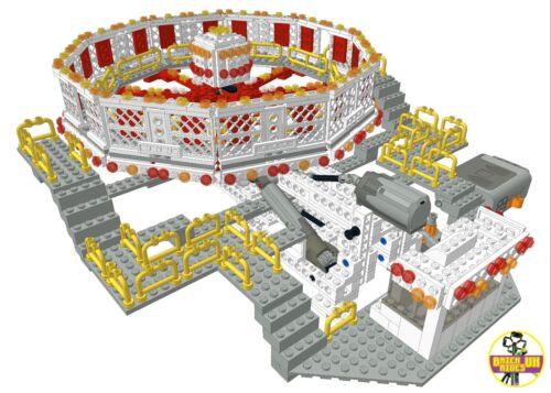 LEGO *Instructions* ONLY of Custom Fairground Ride /'Round Up/' MOC