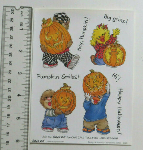 You Choose Suzy/'s Zoo MISC *HALLOWEEN* LARGE STICKER Sheets #SZ-13