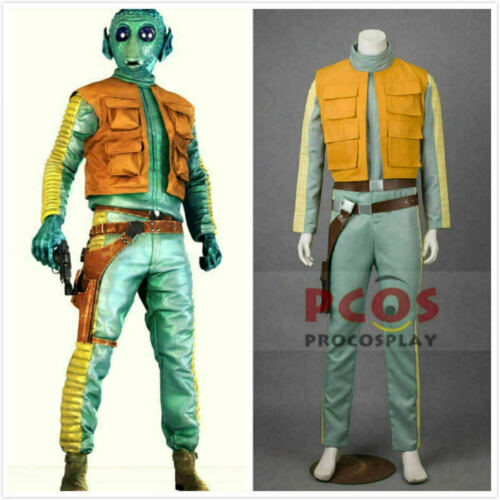 Star Wars 4 A New Hope Greedo Cosplay Costume Cos