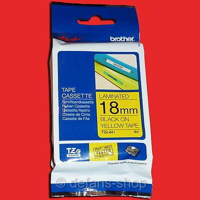 original vhbw© Schriftband 24mm S-GELB FL für BROTHER P-Touch TZ-FX651