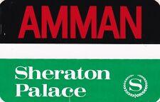 Jordan Aman Sheraton Palace Hotel Vintage Luggage Label sk2207