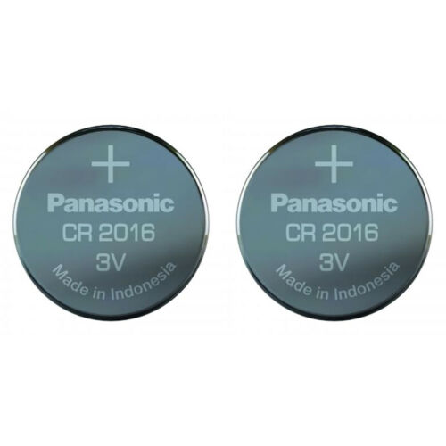 Panasonic CR2016 DL2016 2016 Lithium 3v Coin Cell Batteries Use By Date 2030
