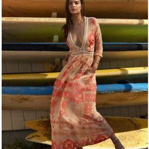 For Love And Lemons Barcelona Maxi Dress Ebay
