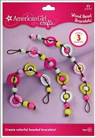 American Girl Crafts Bracelet Kit, Wood Bead , New, Free Shipping