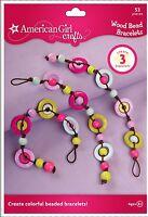 American Girl Crafts Bracelet Kit, Wood Bead , New, Free Shipping
