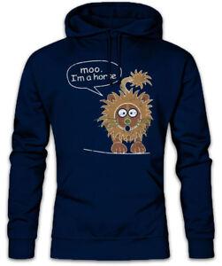Fun Symbol Dunphy con cappuccio Modern Lion I'm Horse A Phil Moo Felpa Felpa Famiglia IPz1Owgn