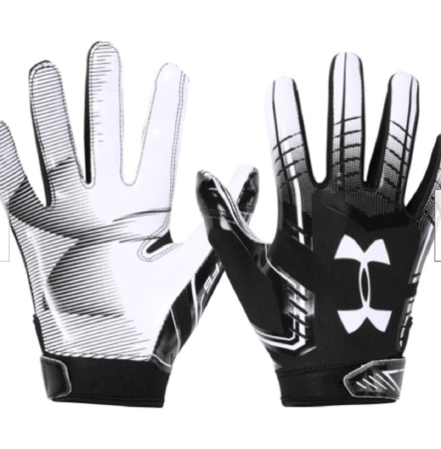 Under Armour UA F6 Youth Glue Grip YLG Football Gloves 1304695 001 for sale online