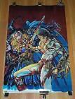 Original Marvel 1995 Conan the Barbarian poster 1:Barry Windsor Smith art/1990's