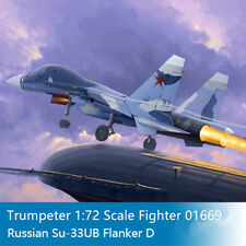 Trumpeter 01669 1/72 Scale Russian Su-33UB Flanker D Military Pattern Fighter