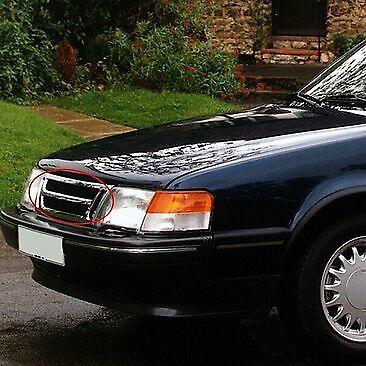 Saab 9000-neuf CDE CD CC Carlsson Talladega calandre chromée