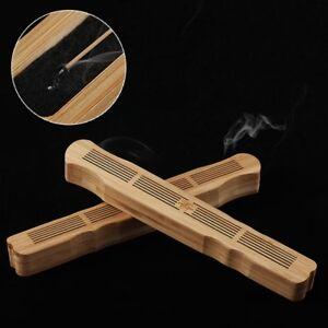 Chinese-Handmade-Bamboo-Incense-Holder-Burner-Joss-Storage-Box-Stick-Decoration
