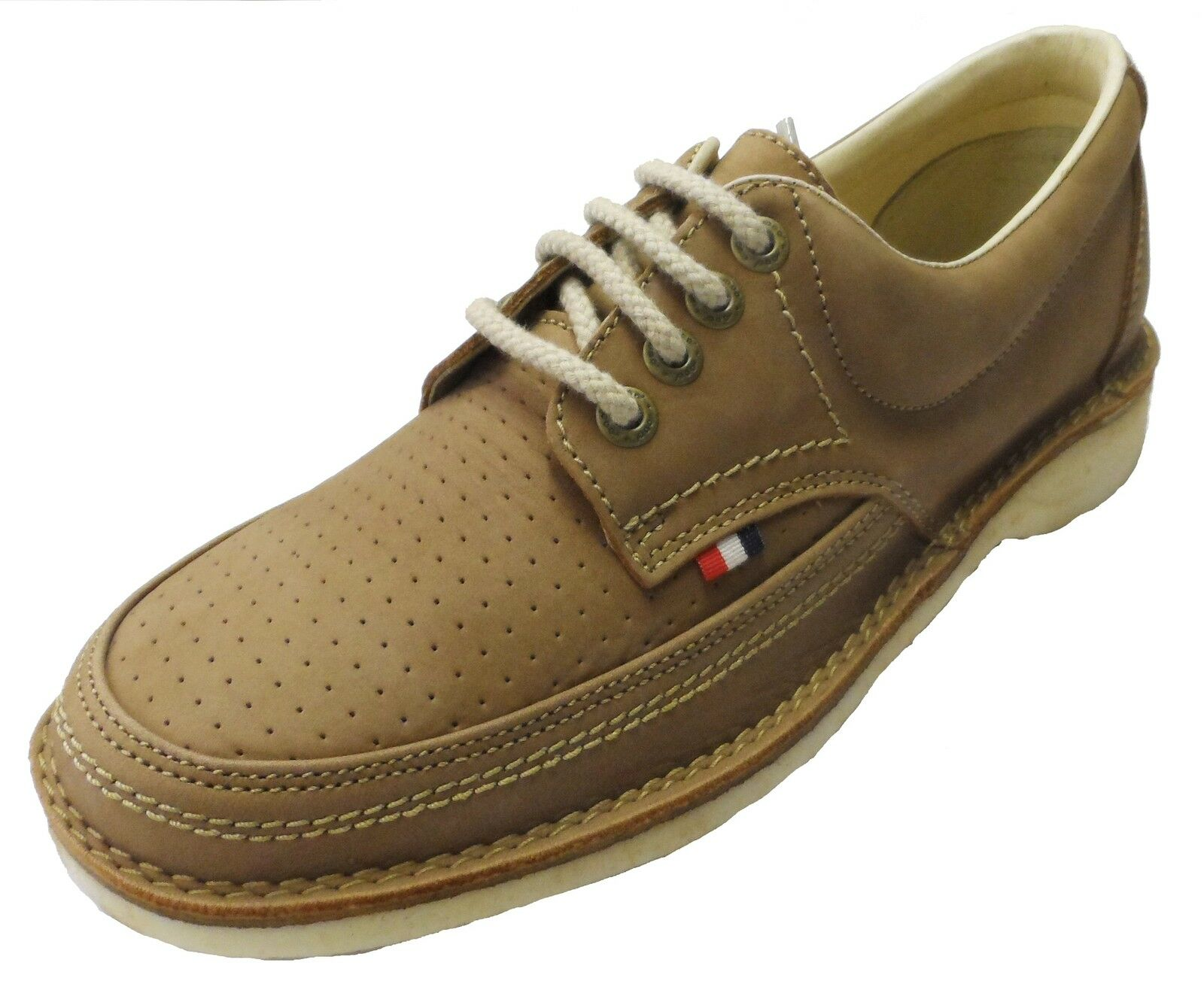 Pod Heritage Camel Gallagher Retro Mod Leder Schuhes