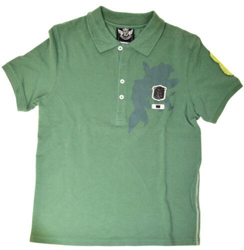 et. NOUVEAU M Forces aériennes polo chemise vert jeune Div Gr