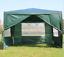 New Heavy Duty Gazebo Marquee Party Tent 3x3 M Wedding Canopy 4 Side Door Window