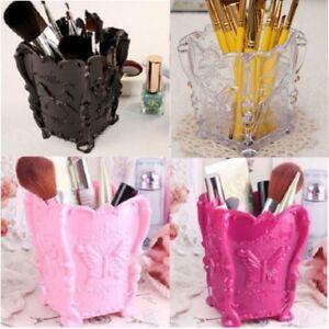 Papillon-Organisateur-Boite-Rangement-Pinceau-Maquillage-Presentoir-Cosmetique