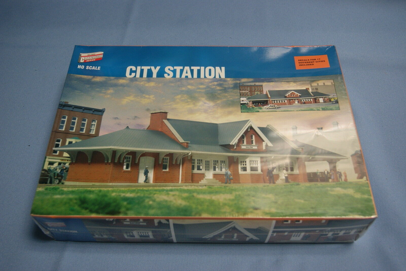 Cornerstone 933-2904 City Station   HO Scale