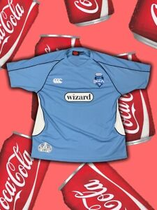 NSW Blues 2008 State Of Origin Canterbury Jersey Size 3XL Blue Polyester