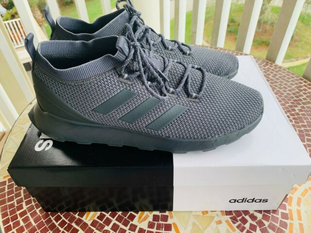 DARK GREY ADIDAS Mens Questar Rise