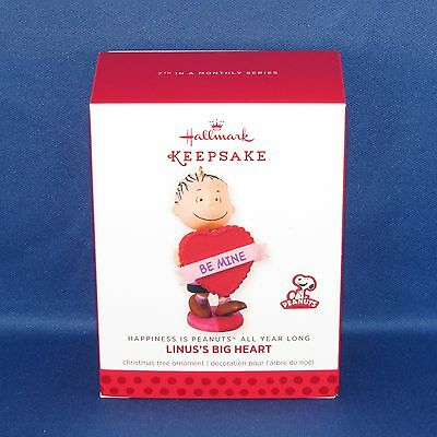 Hallmark - Linus's Big Heart Peanuts All Year Long #7 Keepsake Ornament - NEW