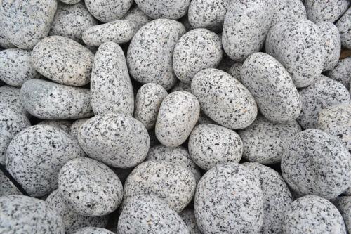 Gabionenfüllung Gabione Granit grau Gletscher Kies Royal 20-40 mm 20 kg Sack