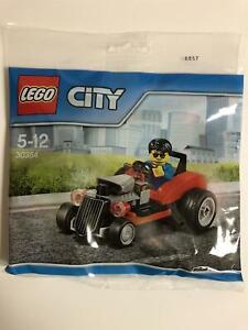 Lego-City-Chaud-Tige-et-Conducteur-30354-Neuf-Scelle-Sac-en-Plastique