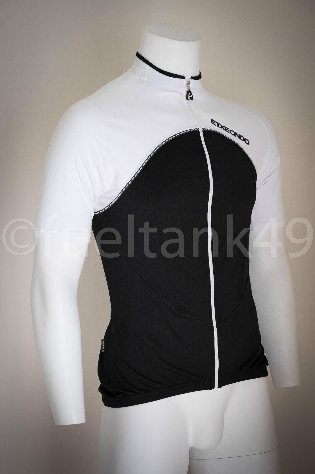 Etxeondo Jersey Manche Courte - schwarz Weiß Größe Moyenne